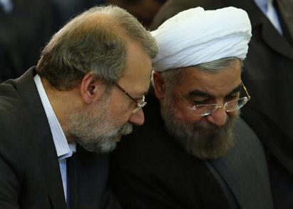 تکذیب خبر انتقاد لاریجانی از اظهارات روحانی